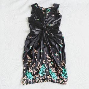 Denis Gagnon Odasi Silk twist dress
